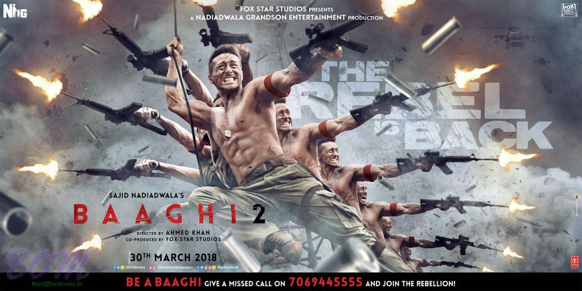 Baaghi 2 new thrilling poster