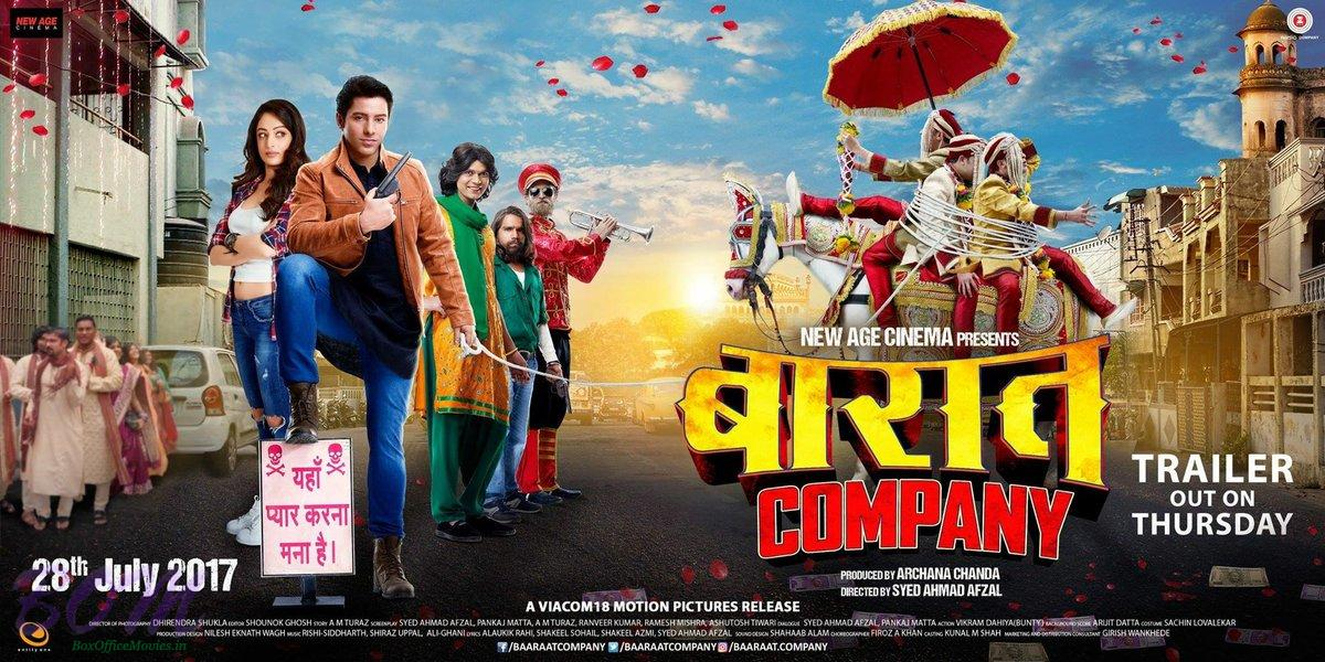 Baaraat Company movie poster