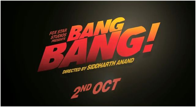 Bang Bang movie teaser poster
