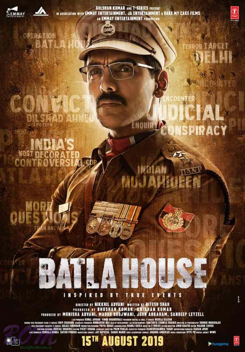 Batla House movie first look poster