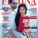 Bhumi Pednekar and Ayushmann Khurrana on the cover page of FEMINA Feb 2016 issue