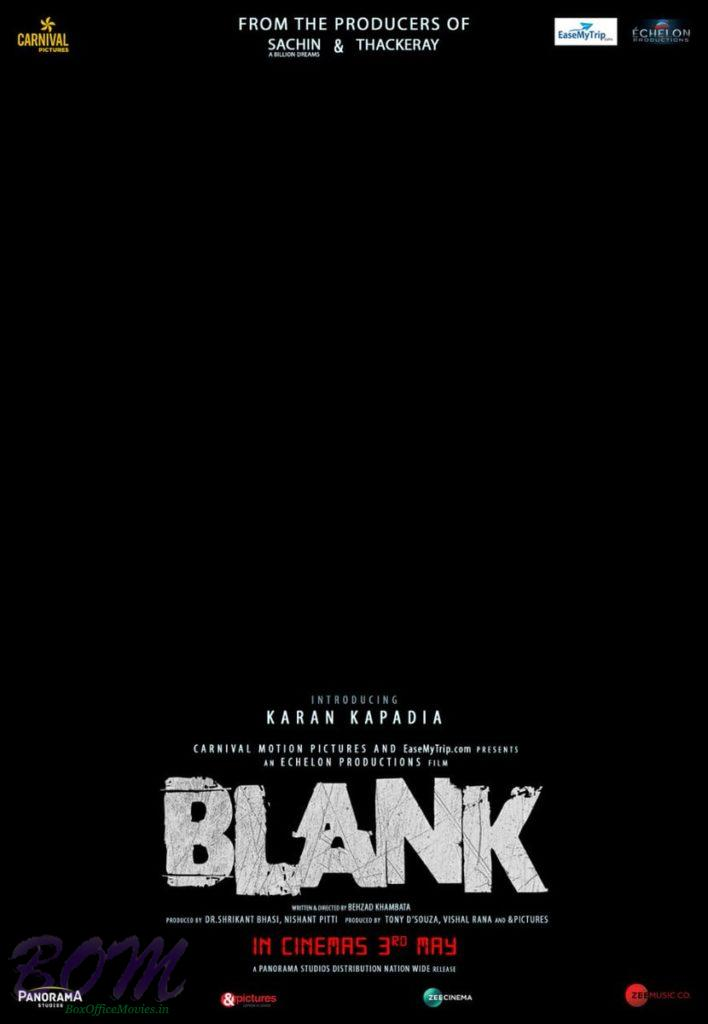 Blank movie release date revised to 3rd May 2019