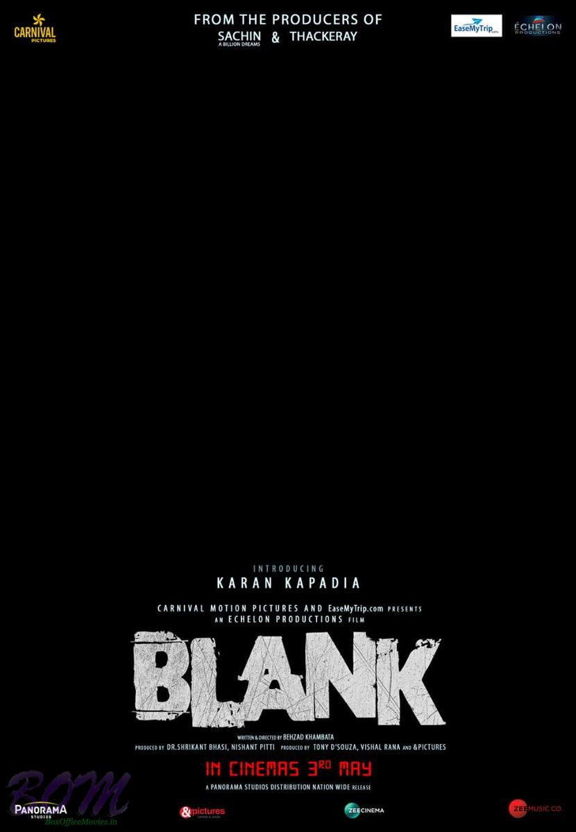 Blank movie release date revised to 3rd May 2019 picture