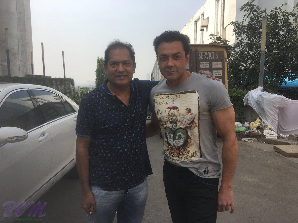 Bobby Deol with Shiraz Ahmed on RACE 3 after Humraaz and Naqab