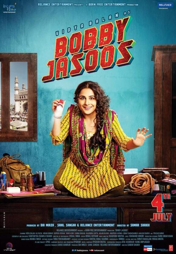Bobby Jasoos new poster release on 27 june 2014