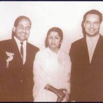 Bollywood singing celebrities and history maker together - Mohd Rafi , Lata Mangeskar, Manna dey, Mukesh and Talat Mehmood