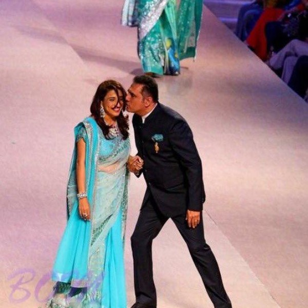 Boman Irani Walked the ramp with gorgeous lady Zenobia