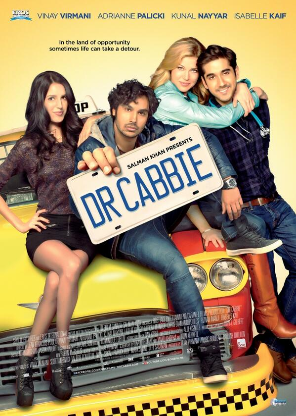 Brand new poster of Salman Khan's first international production movie 'Dr Cabbie'