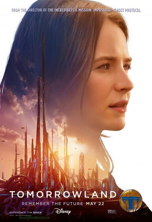Britt Robertson Tomorrowland movie Poster