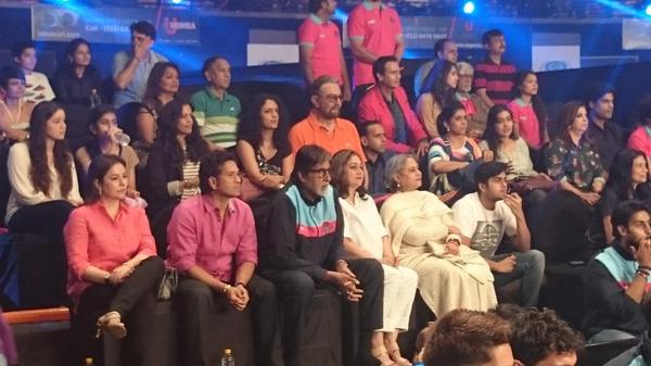 Can you recognise these stars on Pro Kabaddi Match recently