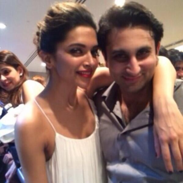 Candid picture of Deepika Padukone