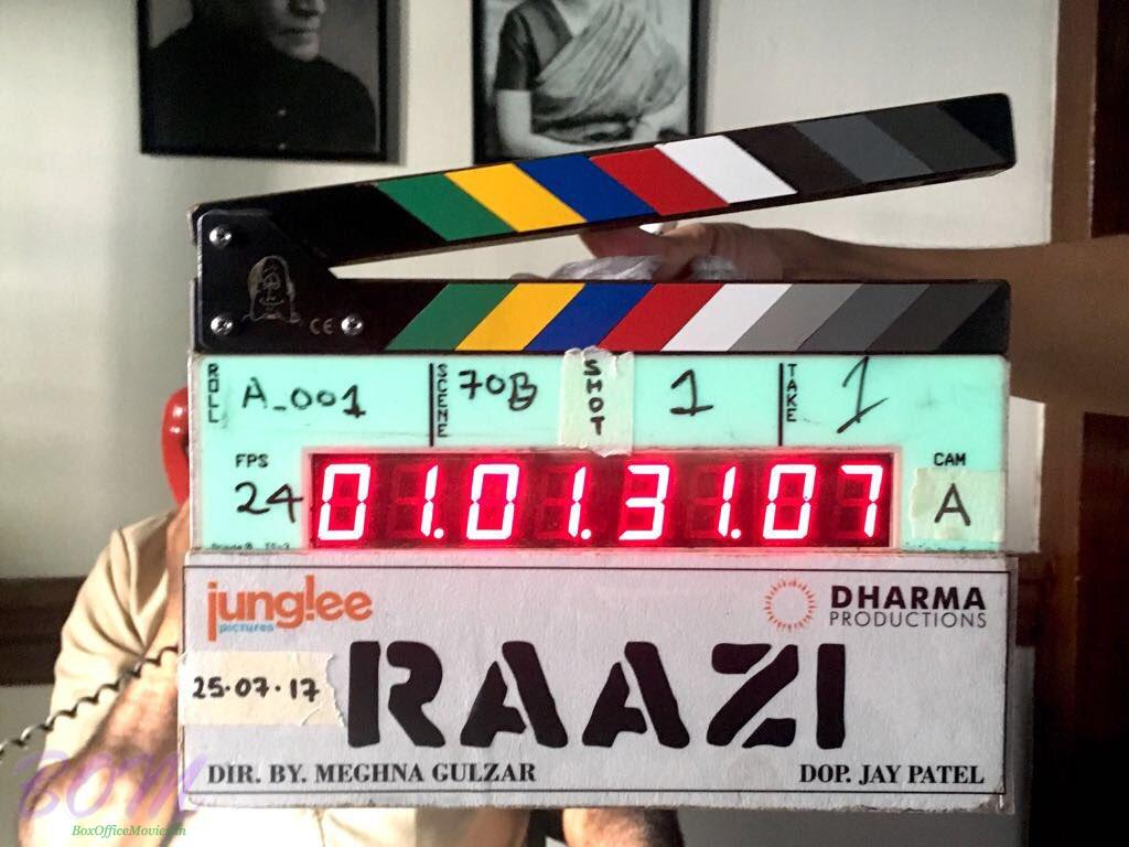Clipper of RAAZI movie starring Alia Bhatt in lead role