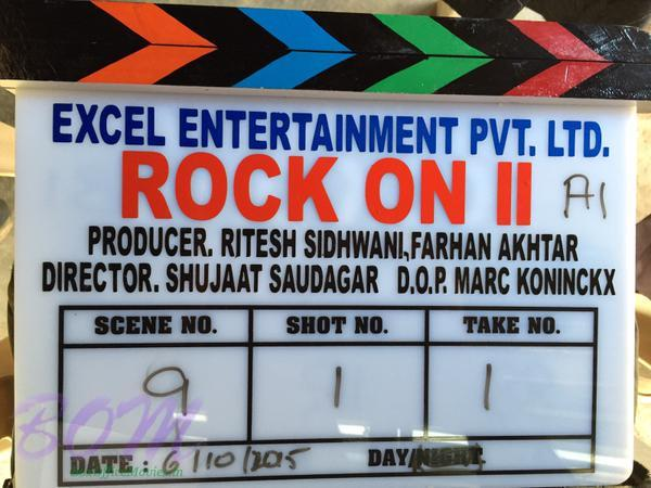 Clipper of Rock On 2 movie