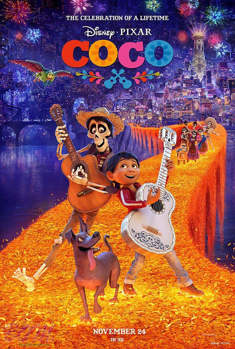 Coco is 3D Kids cartoon movie by disney and scheduled to release in cinemas on on 24 Nov 2017.