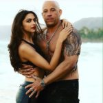 A picture of Deepika Padukone as Serena with Vin Disel as Xander in XXX3