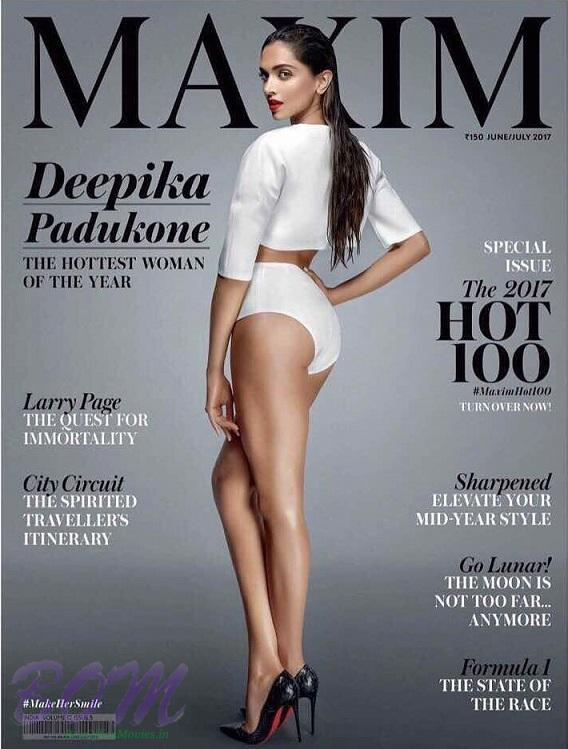 Deepika Padukone cover girl for Maxim Magazine June-July 2017 issue