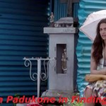 Deepika Padukone under umbrella in movie Finding Fanny