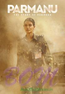 PARMANU movie poster reveals Diana Penty as army officer in the movie.