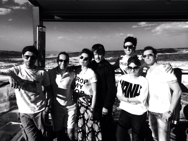 Dil Dhadakne Do with Anil Kapoor, Rahul Bose, Farhan Akhtar, Ranveer Official, Ritesh and Shefali