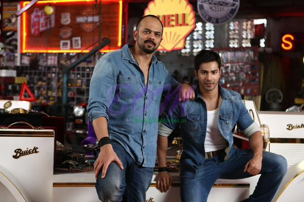 Dilwale Shoots begins - Rohit Shetty with Varun Dhawan