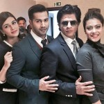 Dilwale foursome strikes a pose in a press con event in U.K