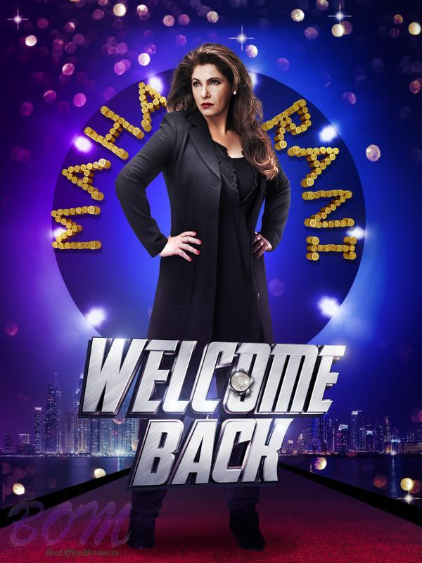 Dimple Kapadia first look in Welcome Back