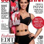 Disha Patani‏ cover girl for Cosmopolitan Magazine May 2017 issue
