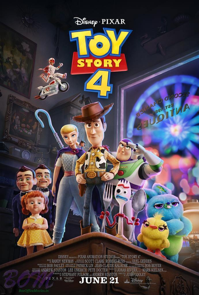 Disney's Toy Story 4 movie releasing on 21 June 2019