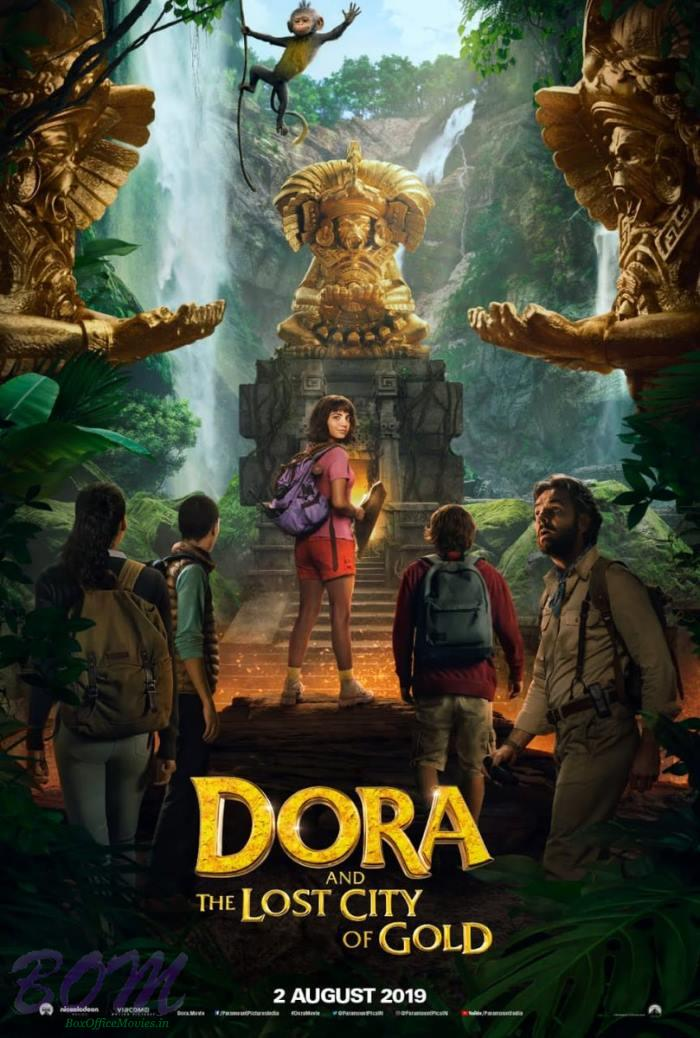 Dora And The Lost City Of Gold to release on 2 Aug 2019