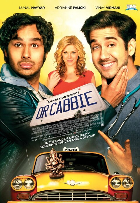 Dr Cabbie new poster - released as on 4 June 2014