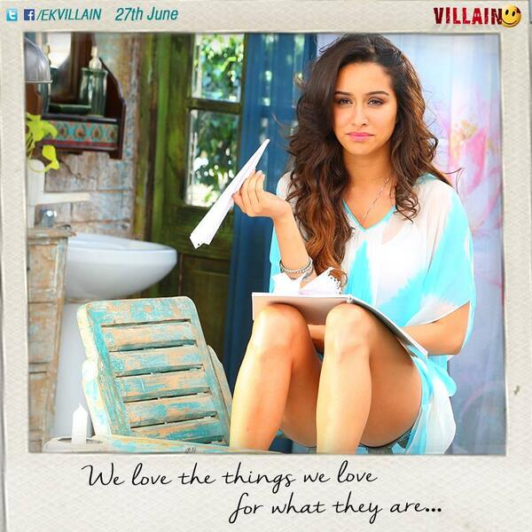 Ek Villain Shraddha Kapoor hot pic - We love the things we love for what they are