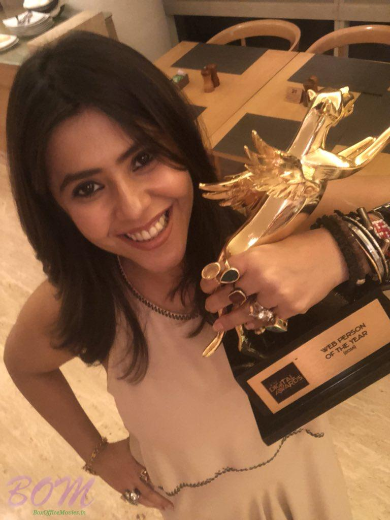 Ekta Kapoor won IMW Digital Award for Web Person of the Year