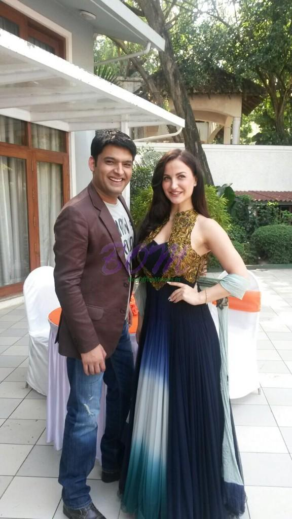 Elli Avram and Kapil Sharma together for an upcoming comedy movie by Abbas Mustan