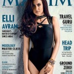 Elli Avram on MAXIM cover of December 2015 Issue