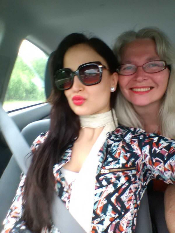 Elli Avram with Mother