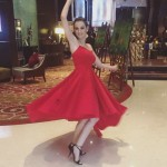 Evelyn Sharma enjoying dancing alone