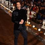 Ever handsome Arjun Rampal for Rohit Bal's finale - picture on 13 Oct 14