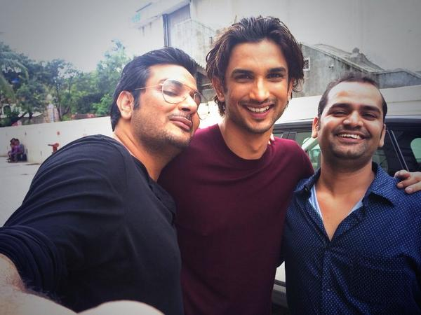 Fab shoot with buddies of bollywood town Sushant Singh Rajput, Mukehs chhabra and Raghuventra Singh