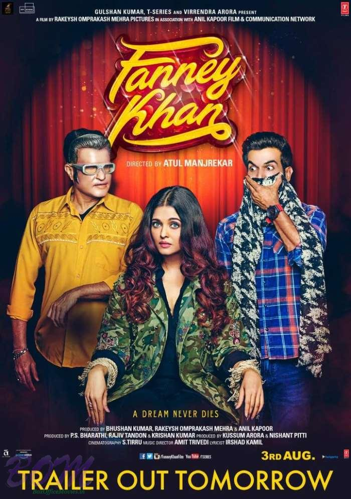 Fanney Khan movie new poster starring Aishwarya, Anil and Rajkummar