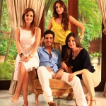 Farah khan, Suzzane khan, Zayed khan family pic
