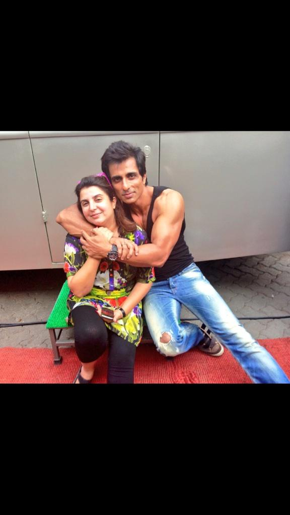 Birthday Cake Images Sonu : Farah khan says  Happy birthday Sonu Sood one of the ...