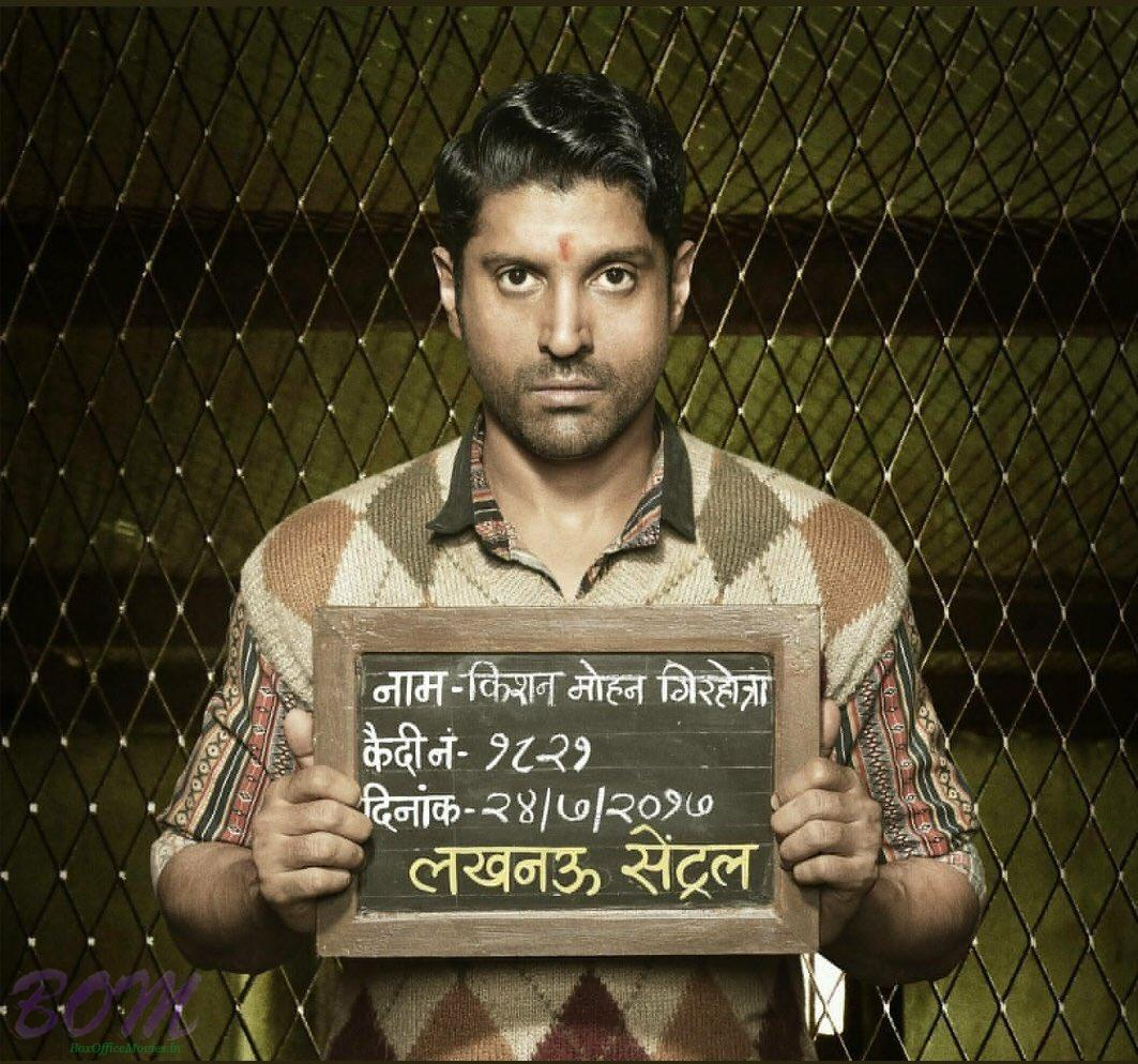 Farhan Akhtar first look from Lucknow Central as Mohan Girhtra