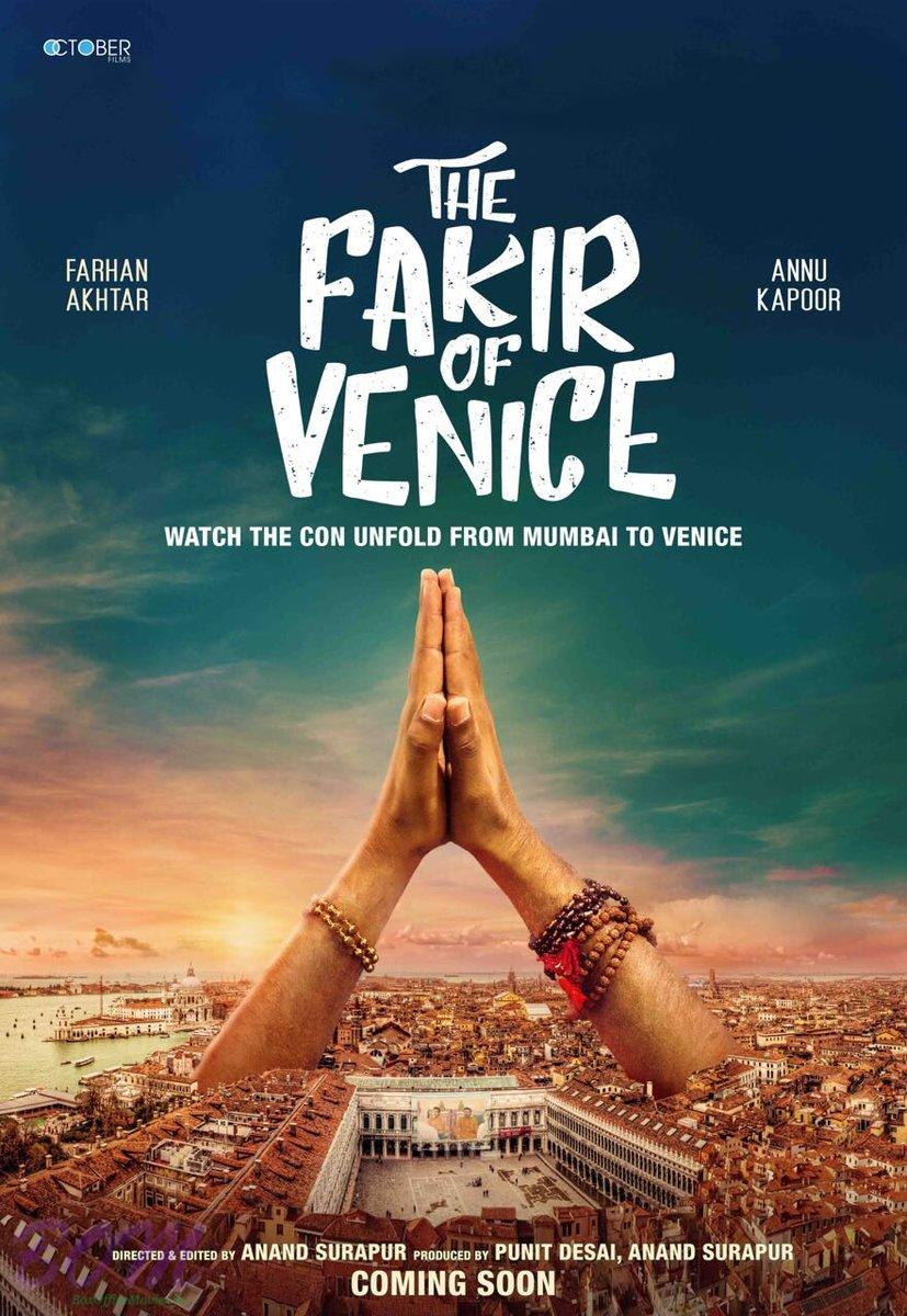 Farhan Akhtar starrer The Fakir of Venice movie Poster