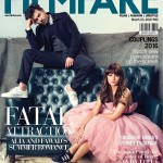 Fawad Khan and Alia Bhatt on the cover page of Filmfare March 2016
