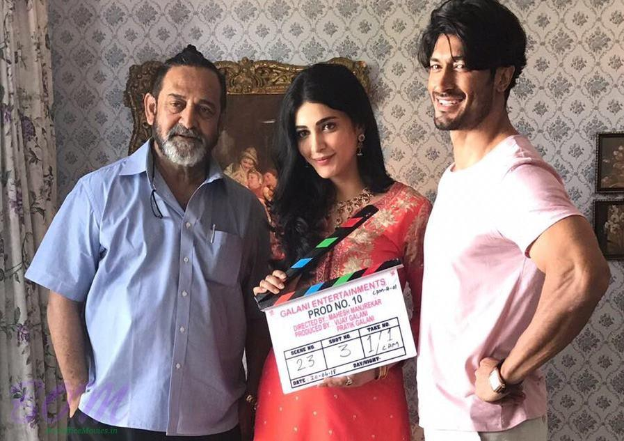 Filming begins of Vidyut Jammwal gangster movie with Shruti Haasan
