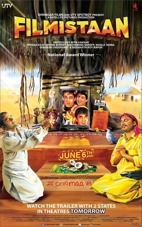 Filmistaan Movie Poster - Releasing on 6 June 2014