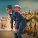 Kapil Sharma kicking hard in this Firangi movie motion poster