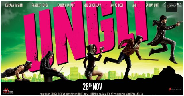 First Look Poster of upcoming movie UNGLI
