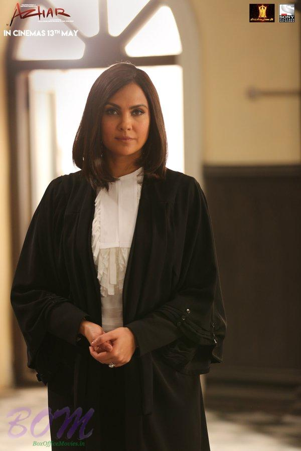 First Look of Lara Dutta as Lawyer in Azhar movie