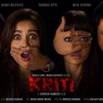 First Look poster of Neha Sharma and Manoj Bapayee starer KRITI movie